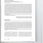 Влияние частноправовых и публично-правовых начал на формирование 001